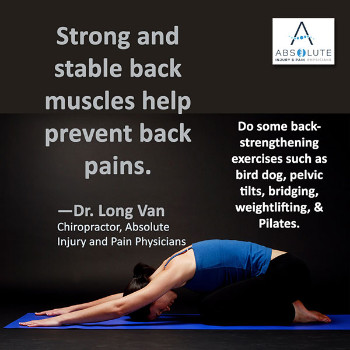 Building Back Muscles for Back Pain