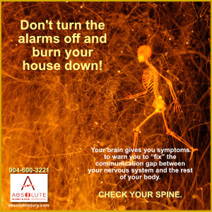 Check your spine and nervous system