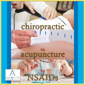 chiropractic acupuncture nsaids
