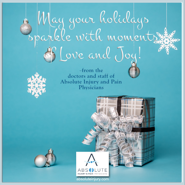 Happy Holidays from Absolute Injury and Pain Physicians