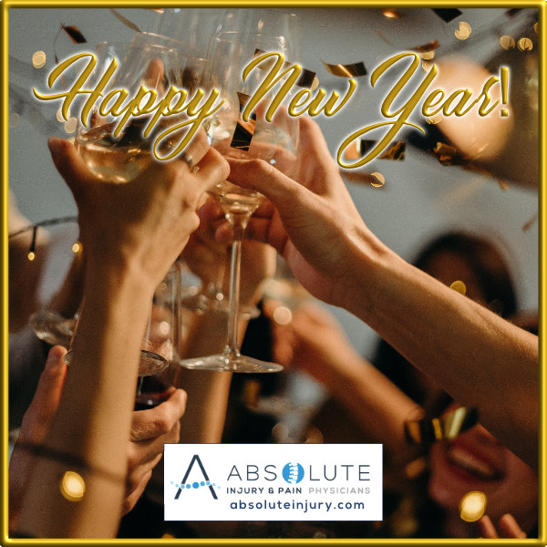 happy new year from absolute injury and pain physicians