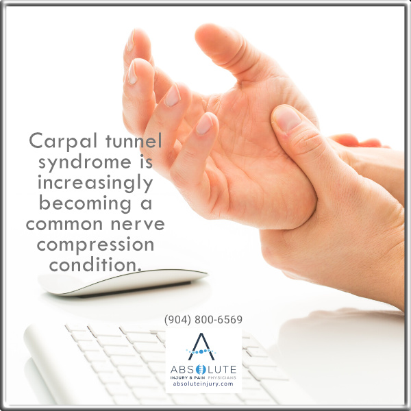 nerve compression carpal tunnel syndrome