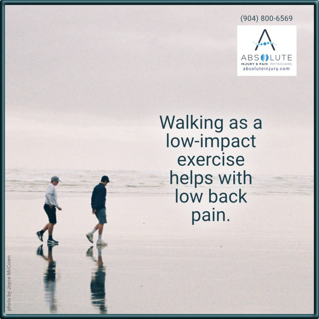 walking for low back pain